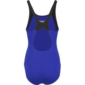 speedo Boom Splice Muscleback Swimsuit Women, blue/black
